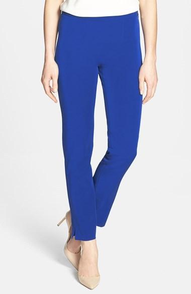 Rachel Roy Side Zip Skinny Techno Pants