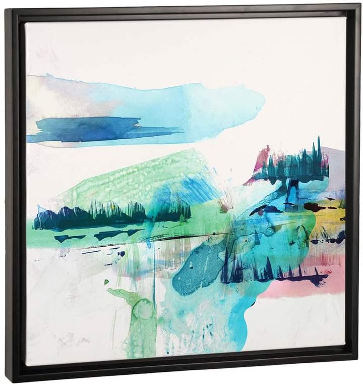 Palette Landscape II (Framed Canvas)