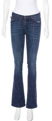 Rock & Republic Mid-Rise Straight-Leg Jeans