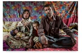 "Momeni Trademark Global Mohammadreza 'Colorful' Canvas Art - 19"" x 2"" x 12"""