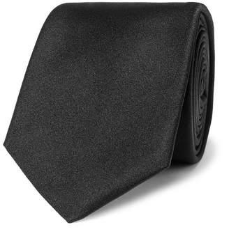 HUGO BOSS 6cm Silk Tie - Men - Black