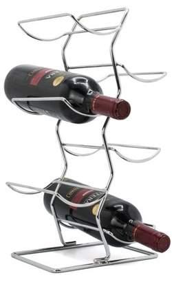 Sorbus Wine Rack Tiered - 6 Bottle Capacity