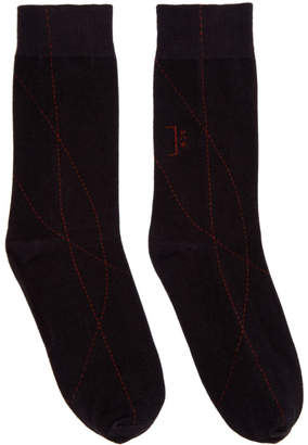 A-Cold-Wall* Black Thick Overlocked Socks