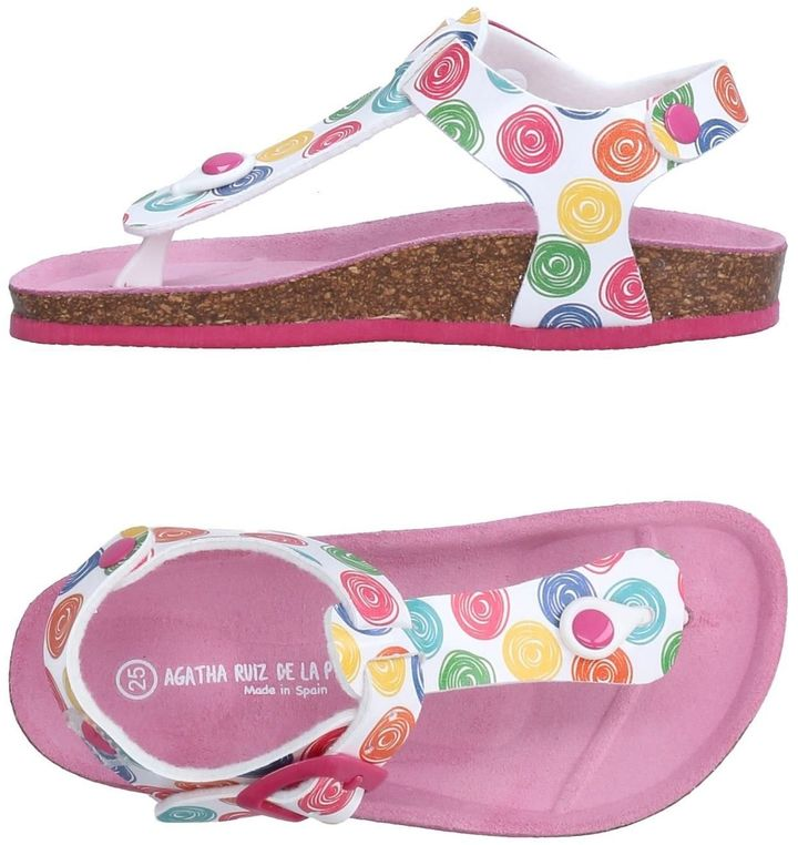 Agatha Ruiz De La Prada AGATHA RUIZ DE LA PRADA Toe strap sandals