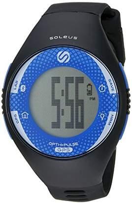 Soleus 'Soleus GPS Pulse BLE' Quartz Blue Fitness Watch (Model: SG013-040)