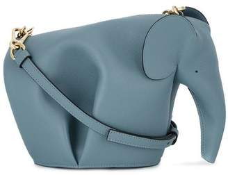 Loewe Blue Elephant mini Leather bag