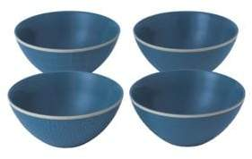 Royal Doulton Hammer Blue Four-Piece Mixed Bowl Set
