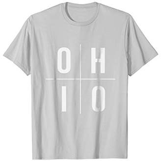 O H I O - Ohio The Buckeye State T Shirt Gift