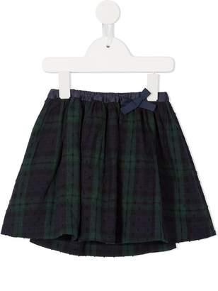 Familiar plaid mini skirt