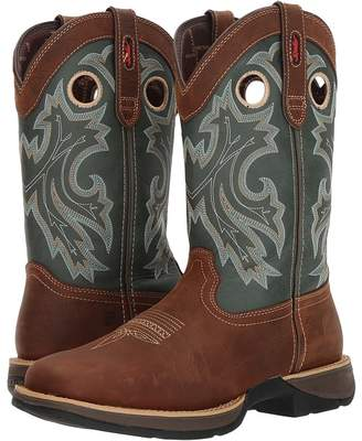 Durango Rebel 12 Western Square Toe Cowboy Boots