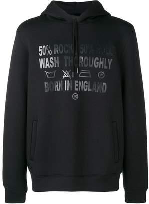 John Richmond Born In England hoodie