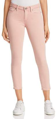 Paige Verdugo Cropped Skinny Jeans in Faded Pink Orchid - 100% Exclusive