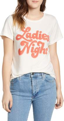 Junk Food Clothing Ladies Night Cotton Tee