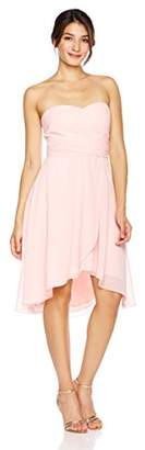 Cambridge Silversmiths The Collection Women's Sweetheart Neckline Chiffon Fit-And-Flare Short Dress 6
