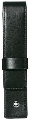 Montblanc Fold-Over Leather Pen Pouch