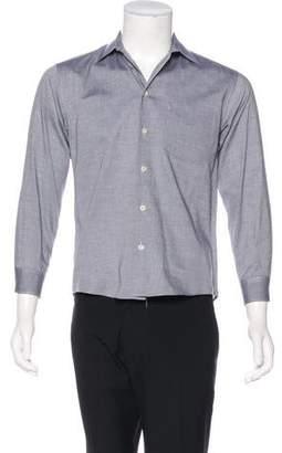 Helmut Lang Woven Dress Shirt