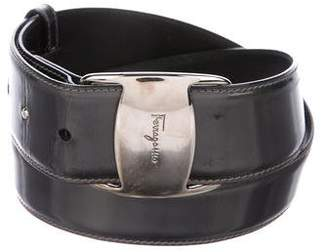 Salvatore Ferragamo Metallic Waist Belt