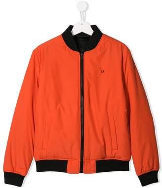 Calvin Klein Kids classic bomber jacket