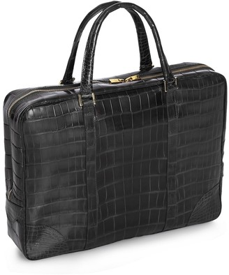 Brooks Brothers Soft Alligator Briefcase