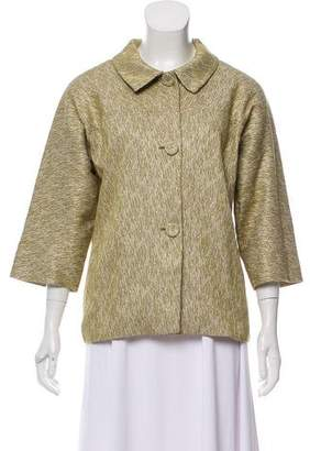 Barneys New York Barney's New York Patterned Button-Up Jacket