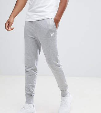 Asos Good For Nothing Skinny Joggers In Grey With Small Logo Exclusive To