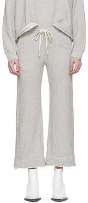 Amo Grey Wide-Leg Sweatpants