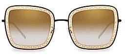 Dolce & Gabbana Women's 52MM Square Lattice Sunglasses