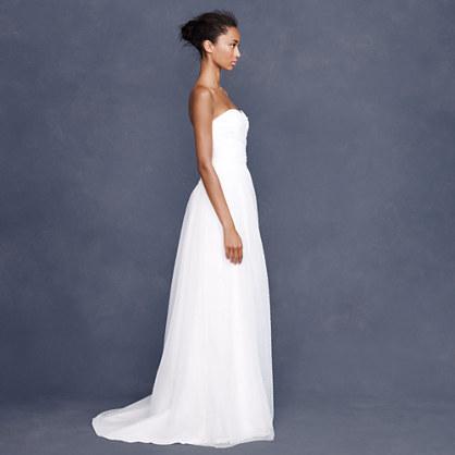 J.Crew Fleur gown