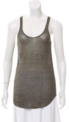 Isabel Marant Metallic Sleeveless Top