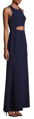 BCBGMAXAZRIA Veranna Lace Back Gown $368 thestylecure.com