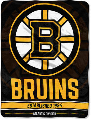 "Northwest Company Boston Bruins Micro Raschel 46x60 ""Break Away"" Blanket"