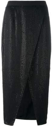 Self-Portrait beaded detail skirt