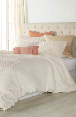 Peri Home Diamond High Pile Fleece Comforter & Sham Set