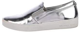 Michael Kors Leather Slip-On Sneakers