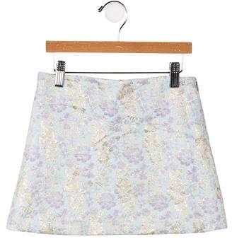 Caramel Baby & Child Girls' Brocade A-Line Skirt