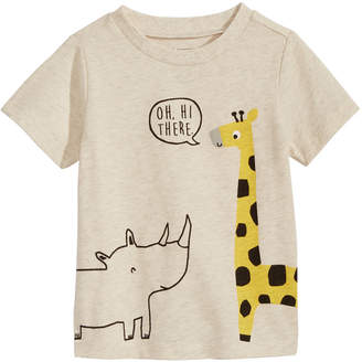 First Impressions Baby Boys Graphic-Print T-Shirt, Created for Macy's
