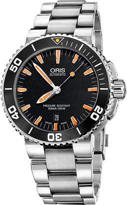 Oris 74376734159MB Aquis stainless steel diving watch
