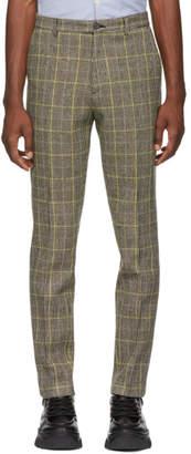 Kenzo Beige Harris Tweed Trousers