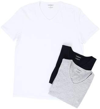 Emporio Armani 3-Pack V-Neck T-Shirt
