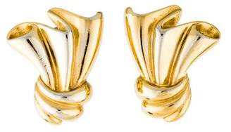 Givenchy Sculptural Clip-On Earrings