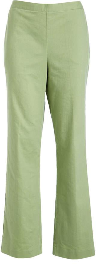 Sage Pocket Pull-On Crop Jeans - Petite