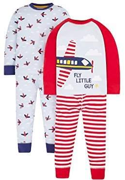 Mothercare Boy's 2 Pack Pyjama Sets,(Manufacturer Size: 92 cm)