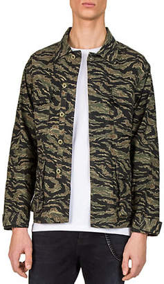 The Kooples Camouflage Blouson Jacket