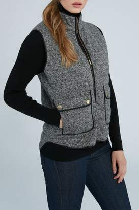 Elliott Lauren Herringbone Vest