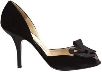 Emporio Armani Velvet heels