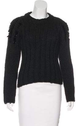 Just Cavalli Knit Embellished Sweater