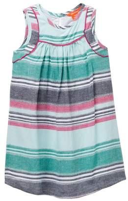 Joe Fresh Striped Dress (Toddler & Little Girls)