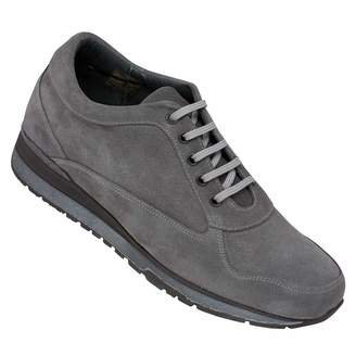 Camilla And Marc Masaltos Height Increasing Elevator Shoes for Men. Be Taller 7 cm / 2.75 inches. Lace-up Casual Style Sneakers. Nubuck Exterior with Extra Light and Flexible Rubber Sole. Model Matera.
