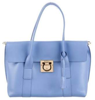 179c4b001aff Salvatore Ferragamo Leather Tote Bags - ShopStyle