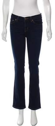 J Brand Dark Wash High-Rise Jeans